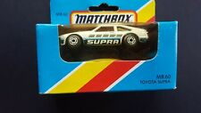 MATCHBOX SUPERFAST TOYOTA SUPRA MB 60 PRODUCTION ISSUE FACTORY SEALED BOX