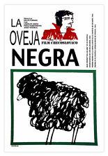 "Movie Poster 4 film""Tha Black SHEEP"" Room art.La oveja negra.Vela de oro Prize."