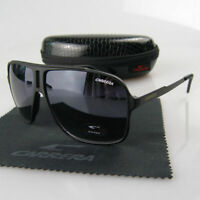 Fashion Men Women Retro Sunglasses Unisex Square Matte Frame Carrera Glasses JX6