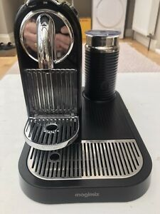 Nespresso by Magimix Citiz Black Coffee Machine & Black Milk Frother - Excellent