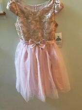 New Rare Edition Pink Dress SZ 14 NWT