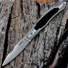 "CRKT 7490 JERNIGAN NORTHCLIFFE LINERLOCK POCKET KNIFE EBONY WOOD 4 3/8"" CLOSED"