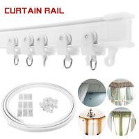 2-6.5M Flexible Cuttable Bendable Curtain Track Rail for Straight Bay Windows