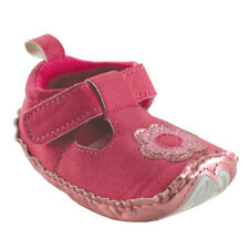 NEW LOVABLE FRIENDS PINK FLORAL BABY BOOTIES/SHOES SZ 6-12 MONTHS