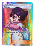 Wicke 147/147 Trainer Card Pokemon Collection Plastic Card Free 2 EX