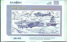 Airmodel Products 1/72 FIAT CR.25 Italian WWII Bomber Vacuform Kit