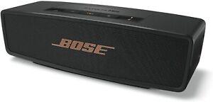 Bose Soundlink Mini ll Bluetooth Speaker with Charging Cradle, Black/Copper
