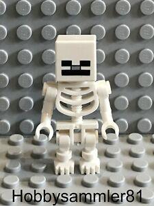 Lego min011 Minecraft Figur Skeleton 21114 21116 21121 21127 21132 21144 #50
