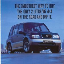 Suzuki Vitara 2.0 V6 4x4 Estate Finance Offer 1996 Original UK Mailer Brochure