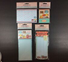 Crownjewlz Kitchen Collection Magnetic Pad Purse Pad Recipe Cards Stationary