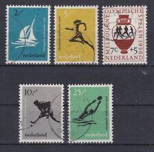 Gestempelte Briefmarken aus Europa mit Olympische Spiele-Motiv als Satz