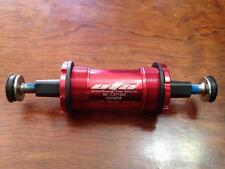OTA square taper Bottom Bracket,118mm BSA 68mm english thread 1.37x24T RED