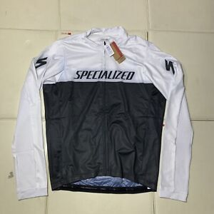 Specialized RBX Long Sleeve Jersey NWT NEW Mens Large Black White