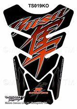 Suzuki Hayabusa GSX1300R Orange Motorcycle Tank Pad Motografix 3D Gel Protector