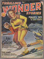 C1 THRILLING WONDER STORIES 12 1946 SF Pulp BERGEY Kuttner VANCE Leinster