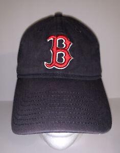 New Era Boston Red Sox Women OSFM Baseball Cap Strapback Hat Navy Blue MLB