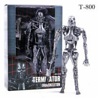 Terminator T-800 Endoskeleton Action Figure PVC Model Collectibles Toy NECA