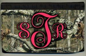 Personalized Custom Monogrammed Mossy Oak Ladies Wallet Credit Card Holder NEW