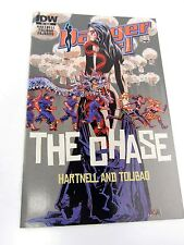 DANGER GIRL The Chase #4 comic  - Campbell Hartnell Tolibao