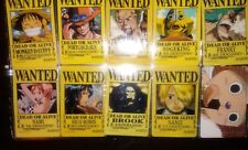 Collectable Japanese Anime One Piece IC / ID / Pass Card Stickers 10pcs Set 2
