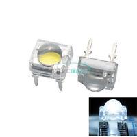 20PCS 5mm F5 Piranha LED Round Head Super Bright Light Emitting Diode White
