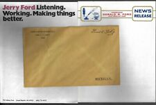Three Gerald Ford Congressional Items; Two Stationery One Free Frank Envelope