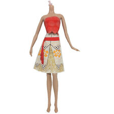 2017 High quality  handmade cool fashion clothes for Barbie  doll party AB168
