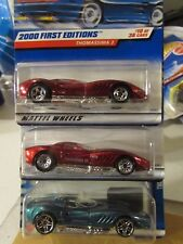 Hot Wheels Lot of (3) Thomassima 3 Types, All Different Lot #4