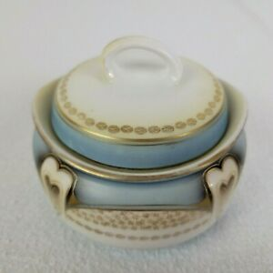 Marked Antique Porcelain RS Germany Small Bowl And Lid Art Nouveau Vintage 1920s