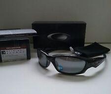 New OAKLEY STRAIGHT JACKET 2.0 POLISHED BLACK / BLK POLARIZED Sunglasses batwolf