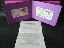 Debden c102 1991 Last and First Gill £20 notes A01 and 20X matching serials.