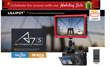 "Lilliput A7s 7"" 1920x1200 4K HDMI DSLR Camera field monitor DJI Ronin M F970"