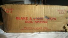 New Unopened Box of Blake and Lamb No. 2 Coil spring Traps Dozen