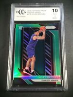 MILES BRIDGES 2018 PANINI PRIZM GREEN REFRACTOR ROOKIE RC BGS BCCG GRADED 10