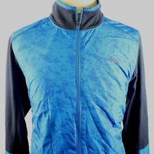 The North Face Mens Ampere Jacket Bomber Wind Trainer Blue L $99 E6105