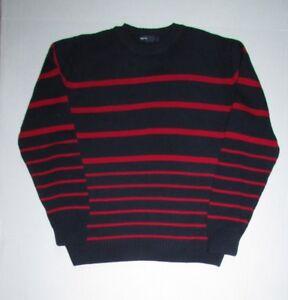 Gap Kids Boys Cotton Blend Long Sleeve Striped Sweater Sz  XL (12)