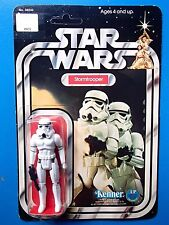 VINTAGE STAR WARS STORMTROOPER 12 BACK-B MOC.