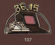 Pin's Demons & Merveilles Telephone Minitel rose 36.15 rare