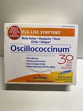 OSCILLOCOCCINUM - 30 Dose Family  EXP 05/2024