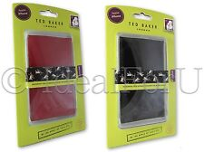 TED BAKER NEW Black Red Patent Sleeve for Apple Iphone 5 5S Pouch Case Pull tab