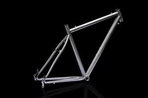 J&L Titanium Cyclocross/CX/Touring bike frame-Ti/50~60-1480g