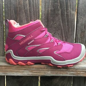 Merrell Toddler Girls Hiking Boots Shoes Chameleon Waterproof