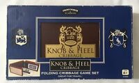 Front Porch Classics Knob & Heel Cribbage Game New Free Shipping