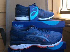 NEW MEN'S ASICS GEL KAYANO 24 SP Running Shoes Blue/White T749N-5656 Sz 8