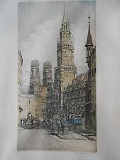 RUDOLF VEIT Bensen Teschen Starnberg Dresden MÜNCHEN Frauenkirche Straßenbahn