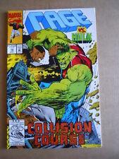 CAGE n°10 1993 Vs HULK  Marvel Comics    [SA40]