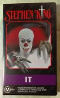 Stephen King's IT VHS 1990 Horror Tommy Lee Wallace 1994 Time-Life Australia