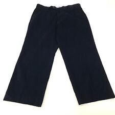 Tommy Hilfiger Mens Corduroy Jeans Trousers W37 L26 Blue Relaxed Fit Wide-Leg