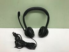 Logitech ClearChat Comfort/USB Headset H390, Noise Cancelling