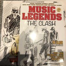 "The Clash ""Radio Clash From Tokyo"" New  Clear Vinyl LP + Music Legends Magazine"